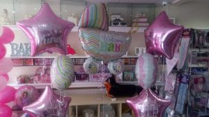 Baby Shower Balloons by Studio Cakes and Events Birmingham